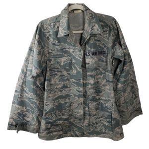5/$25 US Air Force Camo ABU Jacket Shirt Top M